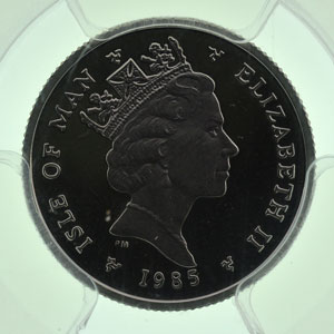 1/10 Noble   Platine   1985    BE/Proof