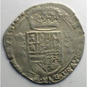 1/16 Patagon   Philippe IV (1621-1665)   1624   Dôle    TB+/TTB