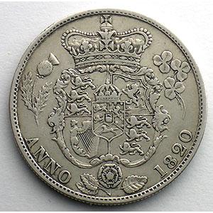 1/2 Crown   1820    TB+