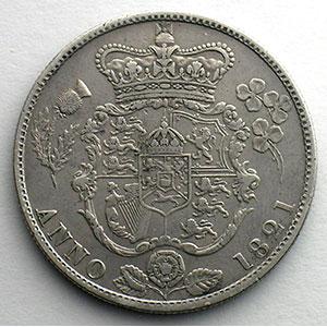 1/2 Crown   1821    TB+
