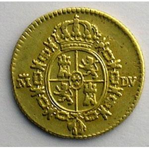 1/2 Escudo   1787  DV (Madrid)    TTB