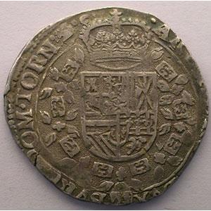 1/2 Patagon   Philippe IV (1621-1665)   1624   Dôle/Tournai    TTB