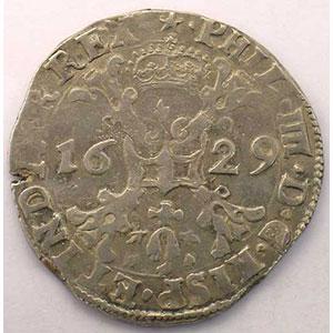 1/2 Patagon   Philippe IV (1621-1665)   1629 Maastricht    TTB