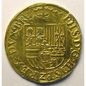 1/2 Réal   Philippe II (1555-1576  1er règne)   Anvers    TTB