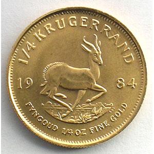 1/4 Krugerrand   1984    SUP/FDC