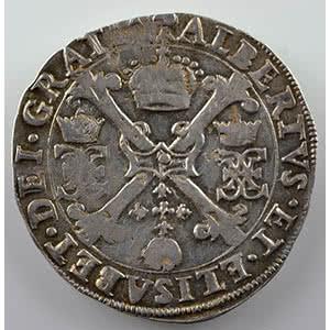 1/4 Patagon   Albert et Isabelle  (1598-1621)   1619  S-Hertogenbosch  (Bois-le-Duc)    TTB+