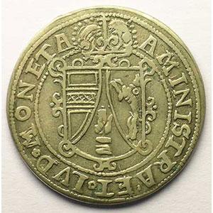 1/4 Thaler   Léopold d'Autriche (1614-1626)   s.d.   atelier d'Ensisheim    TTB