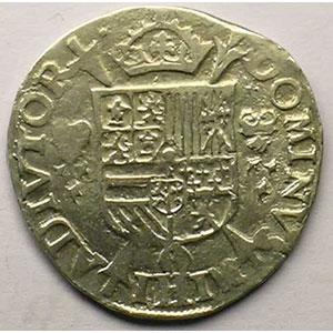 1/5 Ecu   Philippe II (1555-1598)    1566 Anvers    TTB