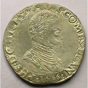 1/5 Ecu   Philippe II (1555-1598)   1566    TTB