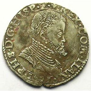 1/5 Ecu   Philippe II (1555-1598)   1571    TTB+