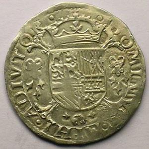 1/5 Ecu   Philippe II (1555-1598)   1572    TTB