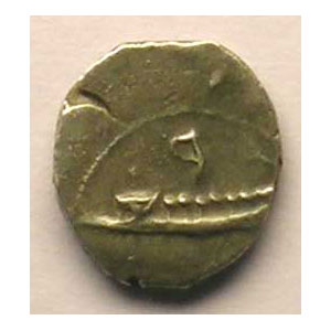 1/8 ou 1/16 Shekel   (IV° siècle av.JC)    TTB/TTB+