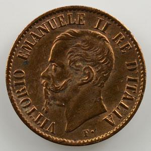 1 Centesimo   1862/1 N  (Naples)    SUP
