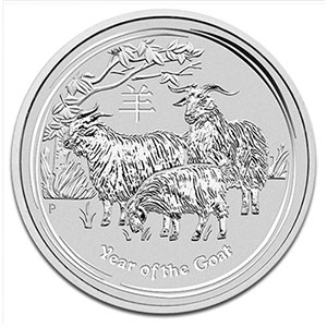 1 Dollar   2015   année de la chèvre (Year of the goat)    BE