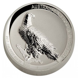 1 Dollar   2017   Australian wedge-tailed eagle    Proof