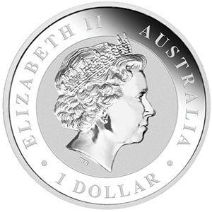 1 Dollar   Kookaburra   2013    BE