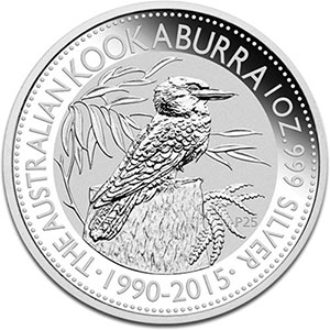 1 Dollar   Kookaburra   2015    BE