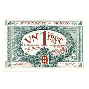 1 Franc   1920    NEUF