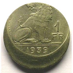 1 Franc   1939    SUP