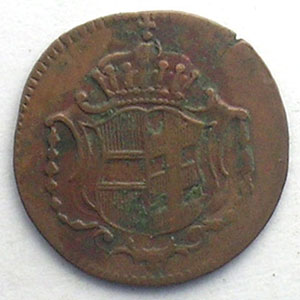 1 Heller   Joseph II (1780-1790)   1789 H  (Günzburg)    TB+/TTB