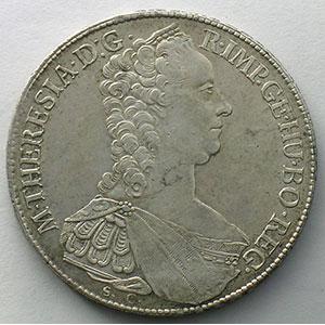 1 Konventionstaler   1765 G  (Günzburg)    TTB/SUP