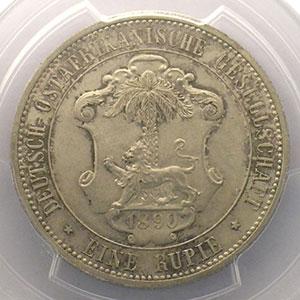 1 Rupie   Guilelmus II Imperator    1890    PCGS-MS63    SUP/FDC