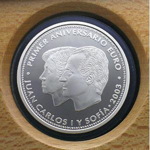 10 €   2003   1er anniversaire de l'Euro    BE