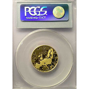 10 €   2004   or    PCGS-PR69DCAM    BE