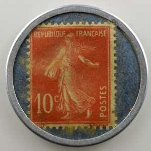 10 Cent rouge/bleu    TTB/SUP