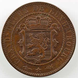 10 Centimes   1854    SUP