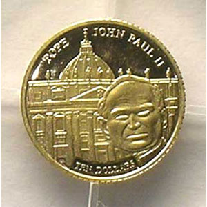 10 Dollars   2003   Jean-Paul II    BE