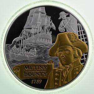 10 Dollars   2014   Mutiny on the Bounty    Proof
