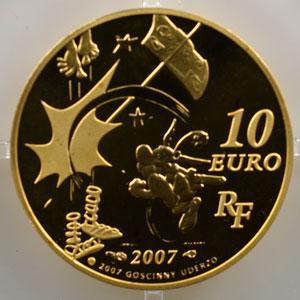 10 Euro   Astérix - La Liberté   2007    BE