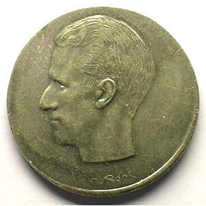 10 Francs   millésime hors flan  FR  sur flan de 5 Francs    SUP/FDC