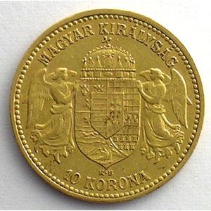 10 Korona   1892 KB (Kremnitz)    TB/TTB