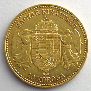 10 Korona   1898 KB (Kremnitz)    TTB+