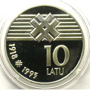 10 Latu   1993    BE/PROOF