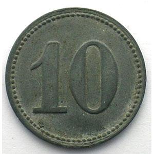 10 (Pf)   Zn, R   20,5mm    TB+/TTB