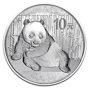 10 Yuan   Panda    2015    FDC