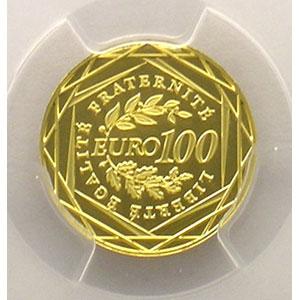100 €   2008    PCGS-MS69    BE