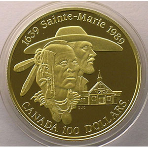 100 Dollars   1989   Sainte-Marie    BE