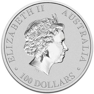 100 Dollars   2012   Australian Platypus    BE