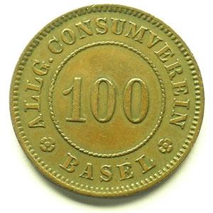 100 (Rappen)   Cu, R,   26 mm   TTB