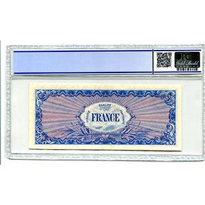1000 Francs   1944 série 3    SUP    PCGS-AU53