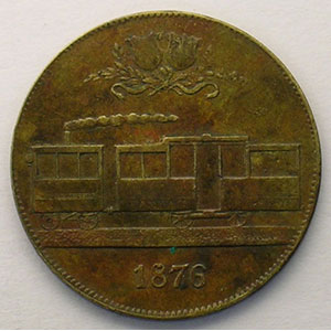 15 (Rappen) 1876   Lt, R  25 mm   TTB