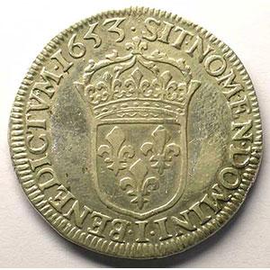 1653 I  (Limoges)    TB+/TTB
