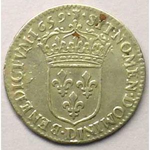 1659 D  (Lyon)    TTB