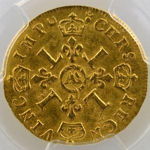 1694 AA  (Metz)  réf.    PCGS-AU53    TTB+