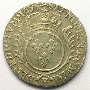 1695 B  (Rouen)  réf.    TB+/TTB