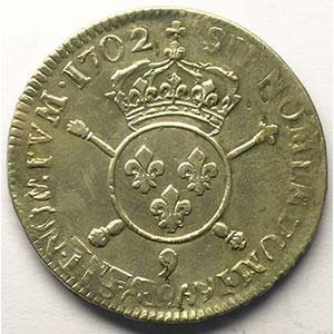 1702 9  réf.  (Rennes)    TTB